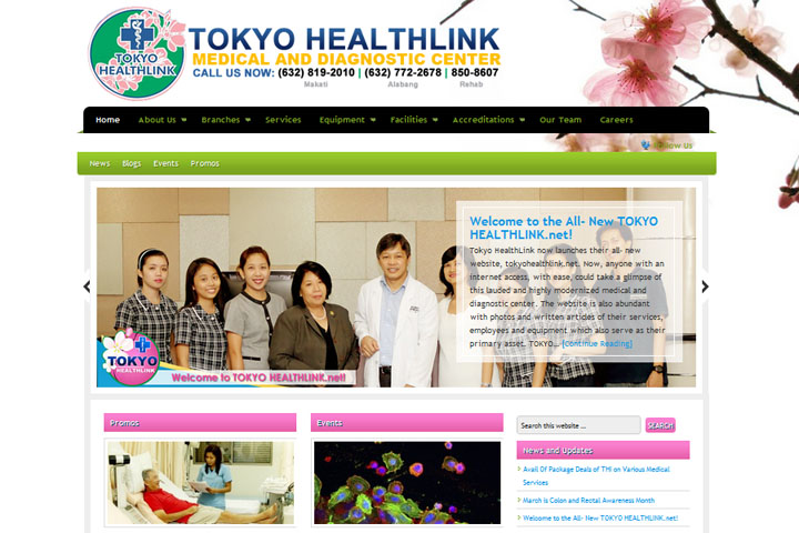 tokyohealthlinkwebsite
