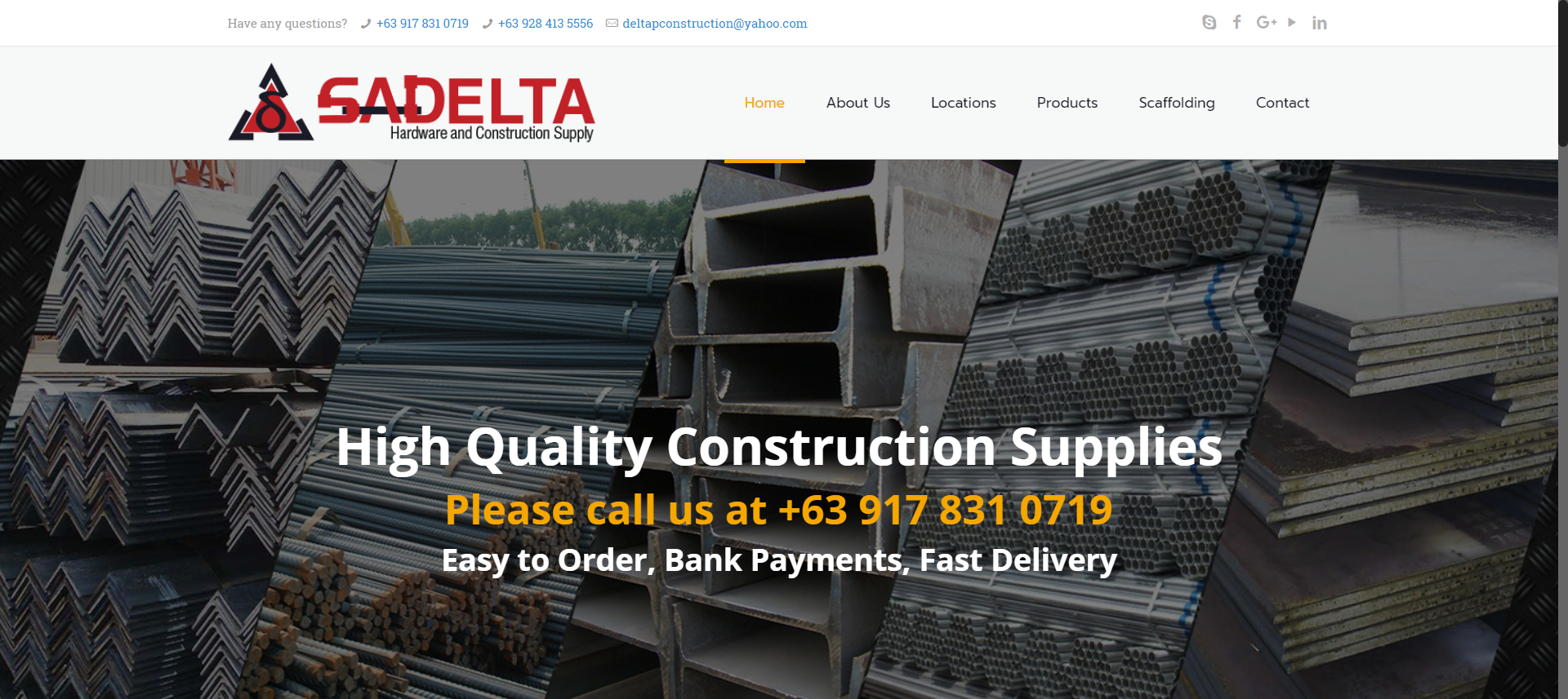 Sadelta Construction Supply | Hardware and Construction